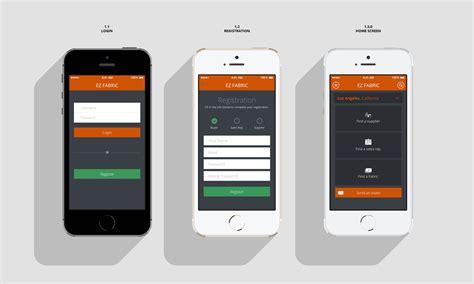 portfolio layout app ux design portfolio