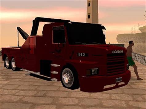 caminhão scania 112h guincho para gta san andreas | site