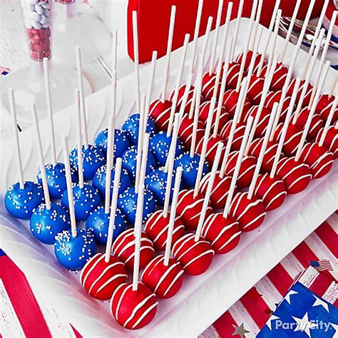 american flag cake pops idea city