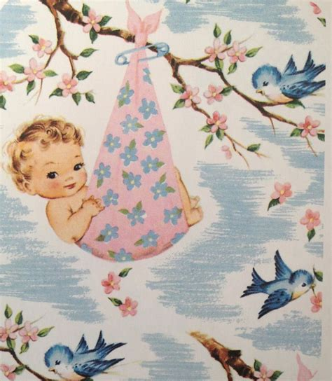 Vintage Baby Shower by Vintage Baby Shower Wrapping Paper Baby Shower Ideas