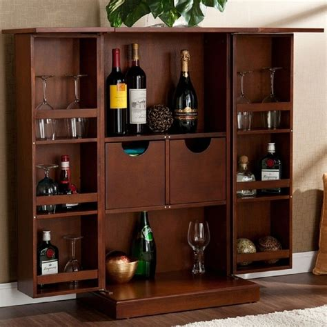 Small Home Bar Counter Design Brown Wooden Cabinets For Small Liquor Cabinet Design Ideas For You Design Ideas