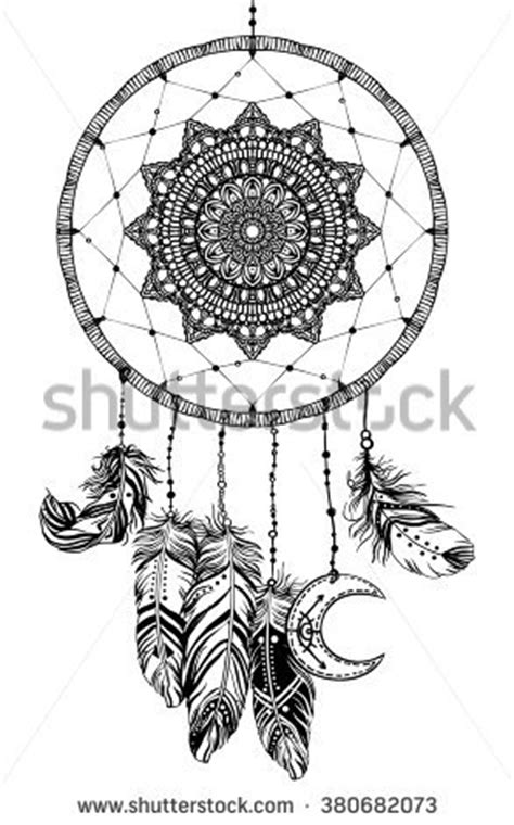 american inspired coloring book dreamcatcher 50 tribal mandalas patterns detailed designs books dreamcatcher stock vectors vector clip