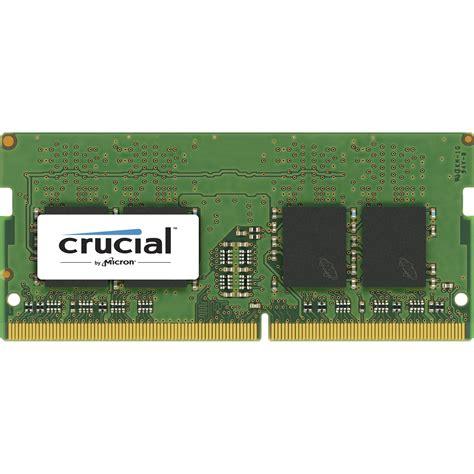 Ram 2gb Ddr4 Crucial 2gb Ddr4 X16 2400 Mhz Unbuffered Sodimm Ct2g4sfs624a B H