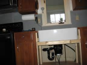 Can You Install Undermount Sink Laminate Countertop - retrofiting a farmhouse sink in existing cabinetry question