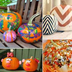 my sweet no carve pumpkin ideas