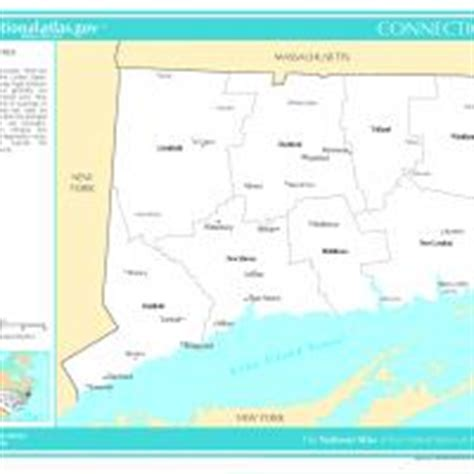 us map with selected cities us map connecticut counties with selected cities and towns