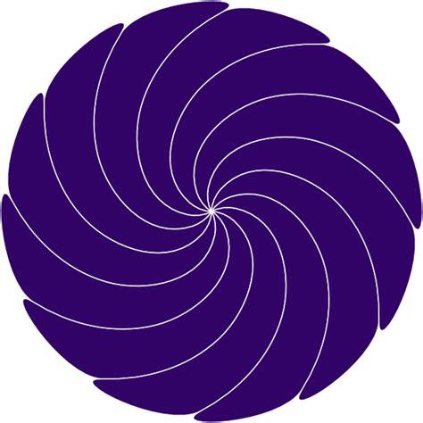 Swirl L by Purple Swirl Clip At Clker Vector Clip