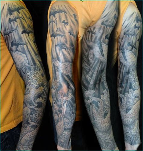 under the sea tattoo designs 15 sea creature sleeve tattoos