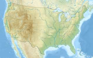 blank map of the united states with rivers and mountains
