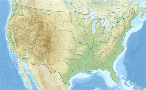 mountains in the usa map united states mountains map