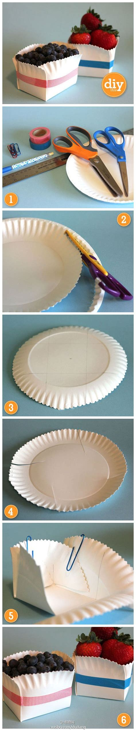 Things To Make With Paper Plates - would a basket make organizing things a lot easier see