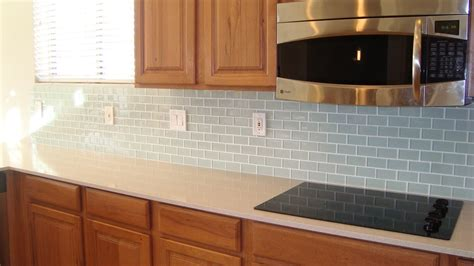 kitchen stunning glass tile kitchen backsplash diy blue