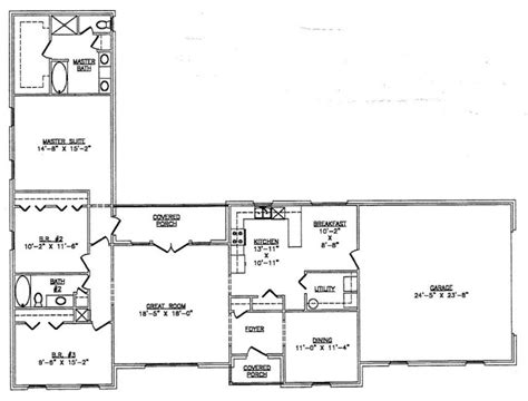 l shaped ranch floor plans floor plans l shaped house