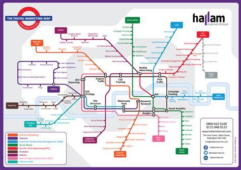 seo roadmap template digital marketing map a guide to marketing