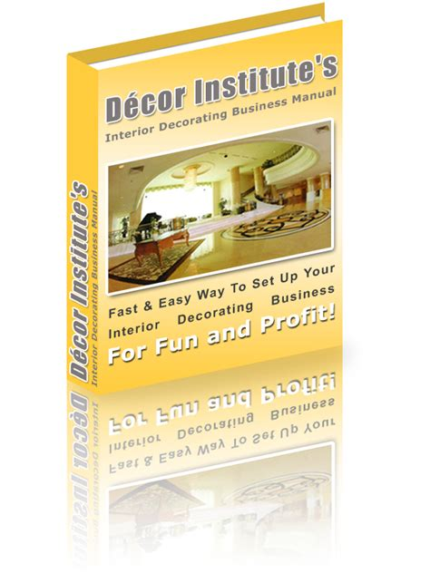 interior decorator of thought d 233 cor institute s interior decorating business manual