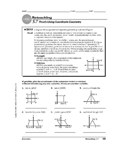 Analytic Geometry Grade 10 Worksheets by Coordinate Geometry Worksheets Grade 10 Gcse Maths