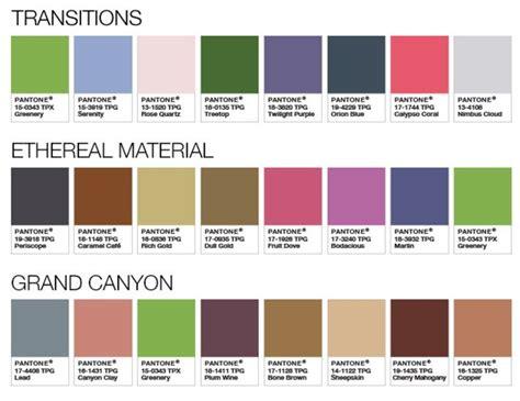 pantone palette 2017 et la couleur pantone 174 de l ann 233 e 2017 est habitatpresto