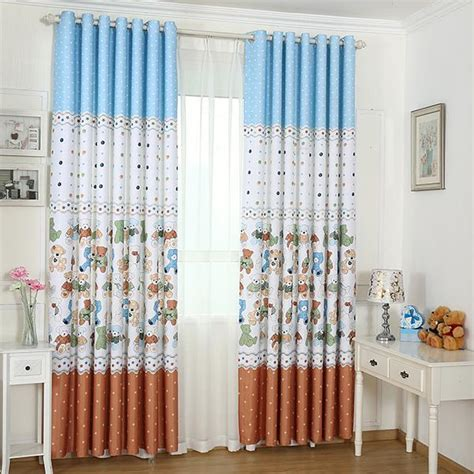 curtains for kids bedroom new arrival printed window blackout curtains for children