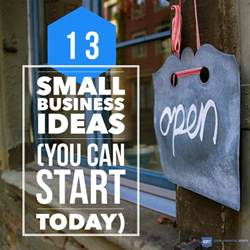 Home Business Ideas Small Business Ideas Entrepreneur The 13 Best New Small Business Ideas And Opportunities To