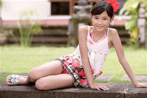 under the rising sun japanese preteen child models 8 pictures angelnation