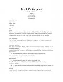 Curriculum Vitae Blank Form by Latest Resume Format Curriculum Vitae Blank Form