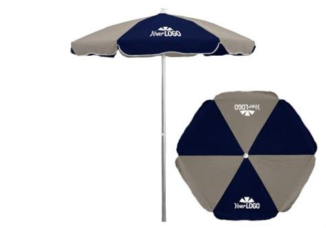 Logo Patio Umbrellas 6 5 Commercial Logo Patio Umbrella Aluminum Pole Umbrella Source