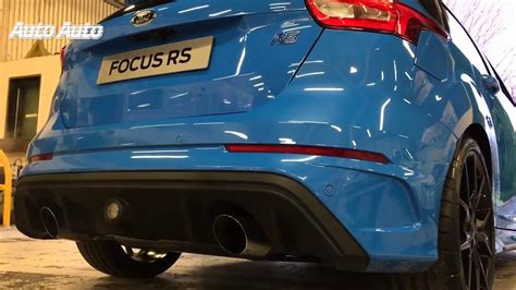 Focus Rs Engine Noise by Ford Focus Rs 2016 Interior Exterior Exhaust Sound