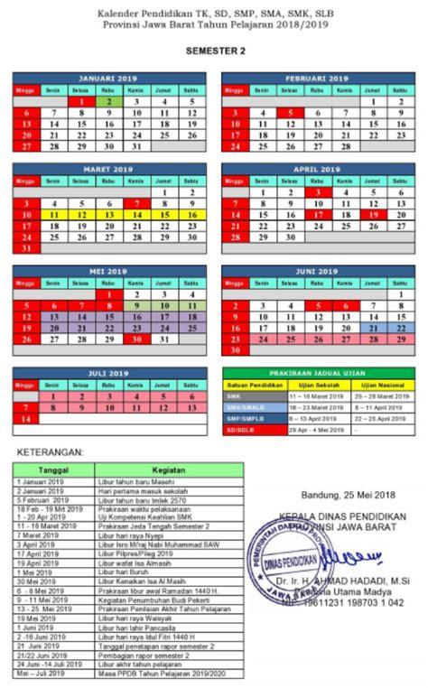 kalender pendidikan provinsi jawa barat   kaldik  pendidikan kewarganegaraan