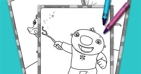 nick jr wallykazam coloring pages wallykazam coloring pack nickelodeon parents