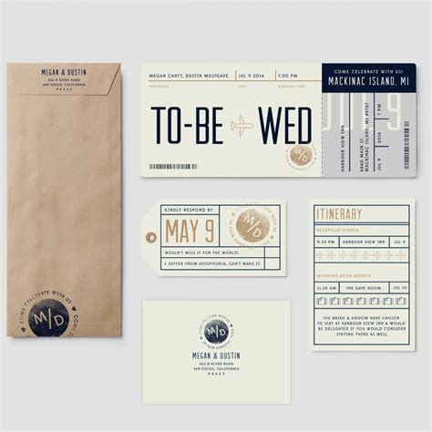 plane ticket wedding invitation template boarding pass destination wedding invitation suite quot to be