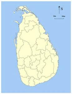 Blank Sri Lanka Map by File Sri Lanka Blank Locator Map Svg