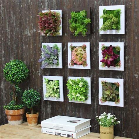 image result  diy fake plant wall plant wall decor