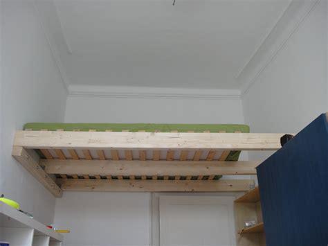 bett hoch bauen ein hochbett selber bauen diy