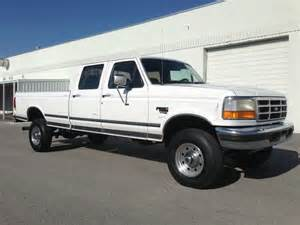 1997 Ford F350 Crew Cab Diesel For Sale Find Used 1997 Ford F350 Crew Cab Xlt 4x4 Longbed 7 3