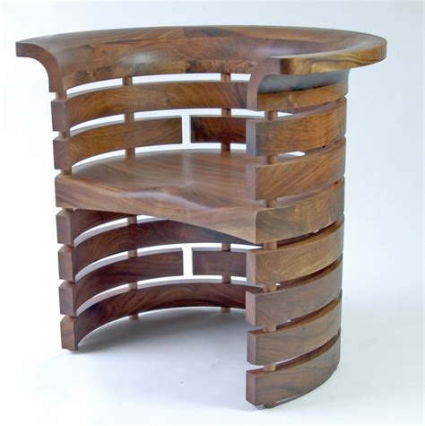 occasional chair in solid oak makers eye