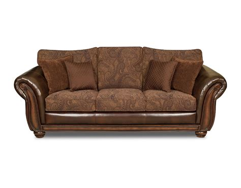 leather bonded sofa simmons brown zepher bonded leather vintage sofa shop
