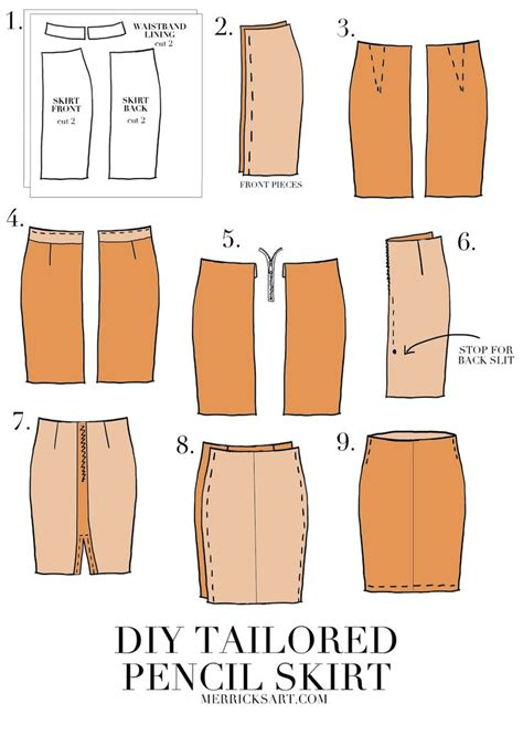 pattern drafting for pencil skirt diy suede midi pencil skirt yards sewing projects and