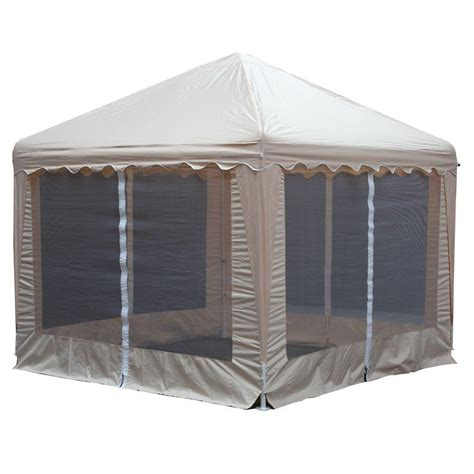 Cing Awnings by Patio Gazebos Patio Furniture The Home Depot