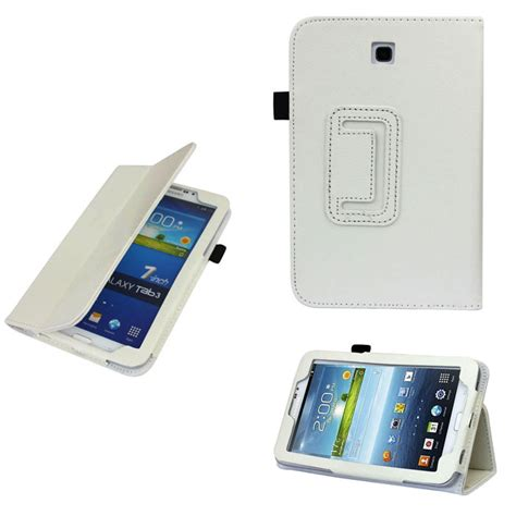 Second Samsung Galaxy Tab 3 7 0 P3200 special leather cover stand for samsung galaxy tab 3 7 0 quot 7 quot tablet p3200 ebay