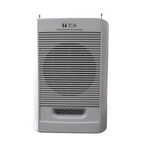 Speaker Toa Portable jual toa zw g10cb as meeting portable wireless speaker