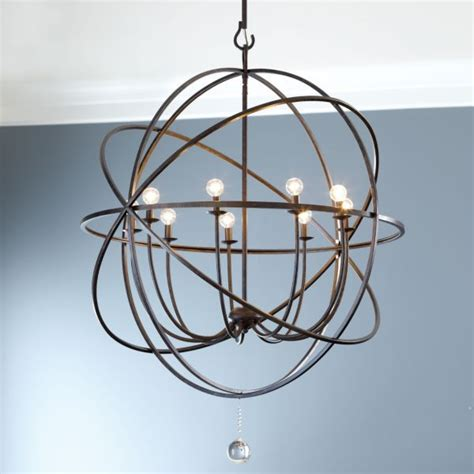 Orb Style Chandeliers Orb Large Chandelier Sanctuary
