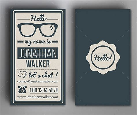 Vintage Business Cards Templates Free by Free Business Card Templates Vintage Images Card Design