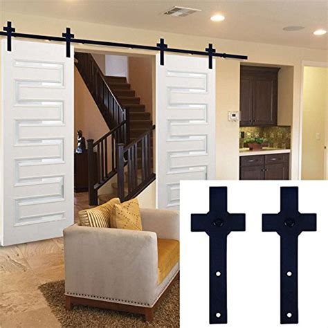 Garage Kits Wood Promotion Shop For Promotional Garage Hanging Barn Door Track