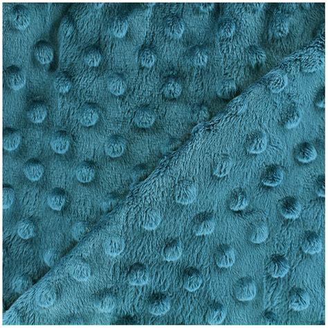 peacock blue velvet upholstery fabric minkee velvet fabric dot peacock blue x 10cm ma petite