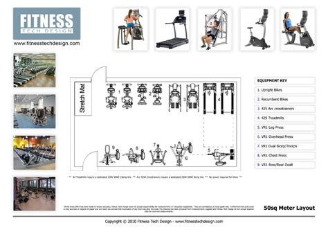 Gym Layout 2d gym design amp 2d fitness layout portfolio fitness tech