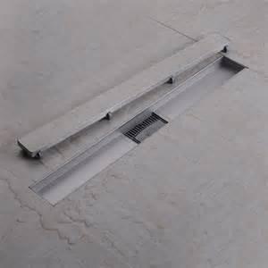 linear shower drain tile insert 304 stainless steel tile insert linear shower drains with