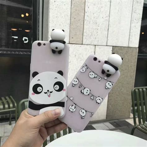 Iphone 6 Plus 3d Panda 1 Soft Silicone Back Limited 3d panda soft silicone phone for iphone 7 7plus 6 6s plus 6plus panda