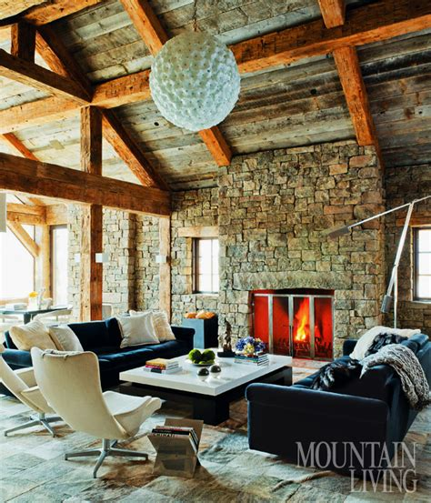 Allée De Garage Moderne 3396 by Midcentury Style In A Rustic Montana Home