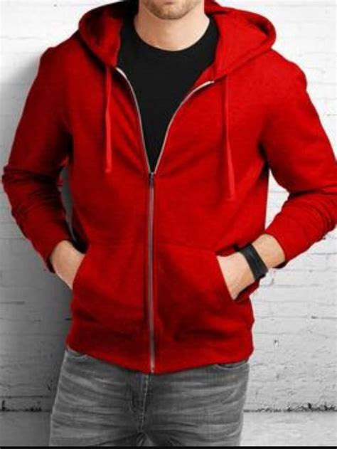 Hoodie Club Mu Bahan Fleece Tebal sarang jaket