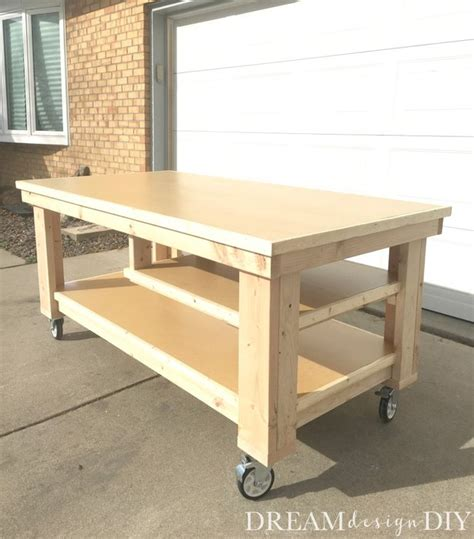 diy garage workbench  dreamdesigndiy  lumberjockscom